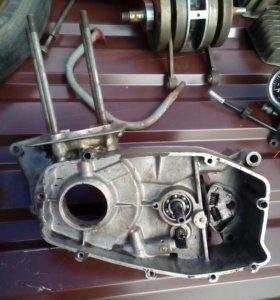 Картера и головка двигателя ява 638