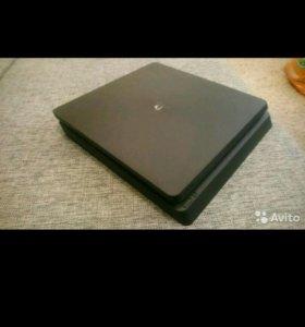 Sony PlayStation 4 slim 500gb +2 игры