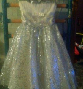 Платье вечернее для детей 5-6 лет