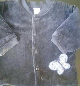 Курточка велюр