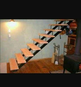 Лестницы из проф трубы