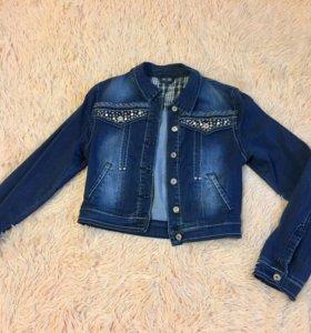 Новая джинсовая куртка, джинсовка 42-44 S