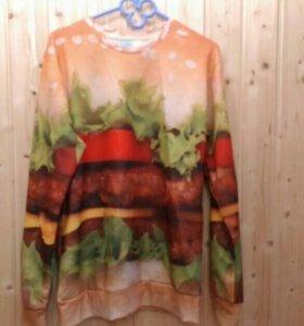 Новая кофта гамбургер