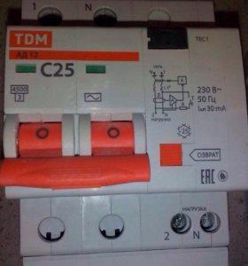 Автомат дифференциальный АД-12 новый