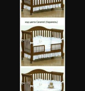 Б/у-Детская кровать Giovanni