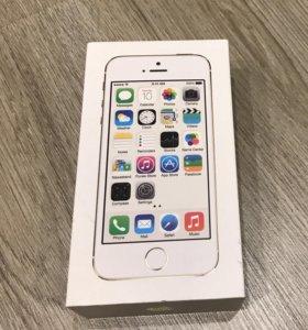 Коробка от iPhone 5S 32Гб