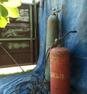 Газовый резак в сборе