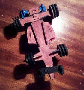 Деревянная гоночная машина