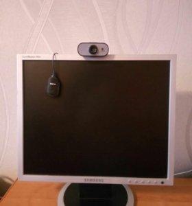 Монитор,веб-камера,микрофон