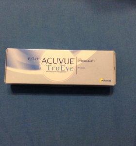Линзы -3,5 Acuvue TruEye