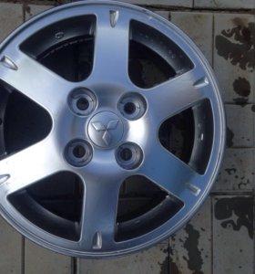 Диски на Mitsubishi Lancer