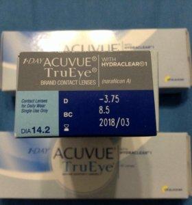 Линзы Acuvue TrueEye -3,75