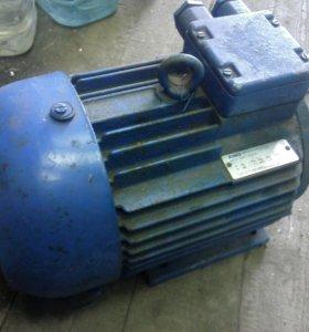Электродвигатель 7,5 кВт, 3000 об новый
