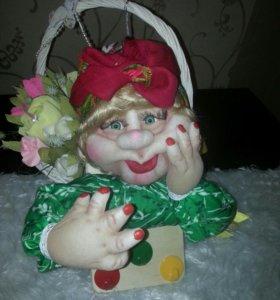 Авторская кукла.