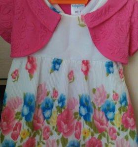 Детские платья на 1-2 года