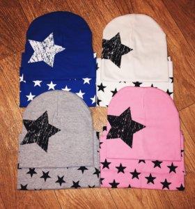 Новые комплекты шапка + снуд