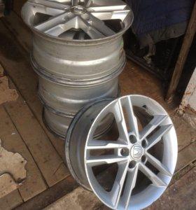 Диски Honda R17 17*7,5 JJ ET45, 5*114,3 d64,1