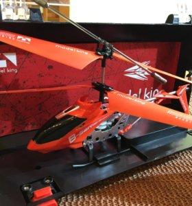 Радиоуправляемый вертолёт. Новый в упаковке.