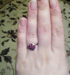 Кольцо,позолота