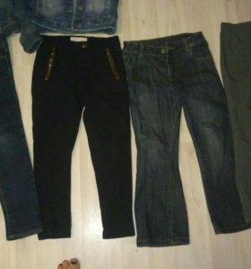 Джинсы, брюки.