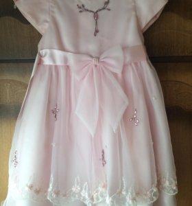 Очень красивое платье SantaBarbara