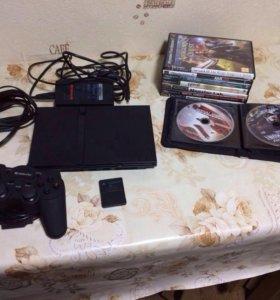 Приставка Сони PS2 чипованная