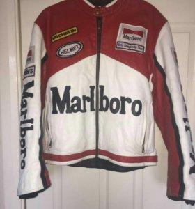 Кожанная куртка Marlboro