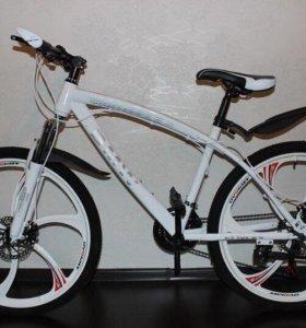 Велосипед горный (литые диски 26 дюймов )