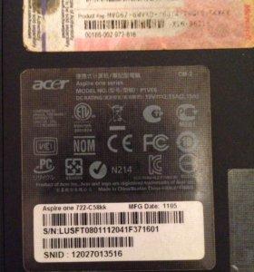 Нетбук Acer Aspire One