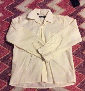 Школьная рубашка на рост 122-128