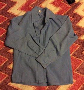 Школьная рубашка на рост 116-122