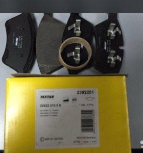 Колодки тормозные textar 2392201 (MB A0044204020)