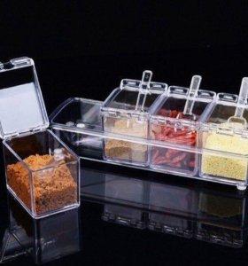 Набор для хранения приправ и прочего crystal