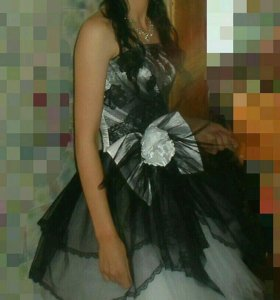 Бальное платье бальное