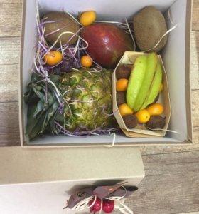 Фруктовая коробка,фруктовая корзина.
