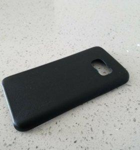 Кожанный чехол на Samsung Galaxy S7