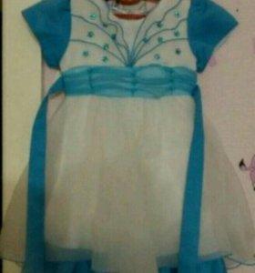 Платье деткое