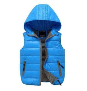 Куртка Жилет для мальчика Р 122-128 новый