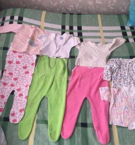 Детская одежда от 6-12 месяцев