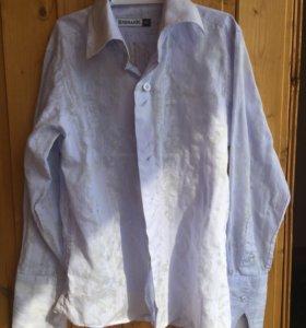 Рубашки (4 шт) школьные рост 122-128
