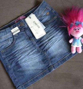 Юбка джинсовая для девочки новая фирма Том Тейлор