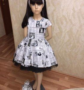 Платье в стиле Galliano