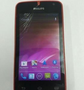 Телефон Philips W536