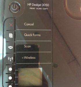 Принтер, скан hp deskjet 3050