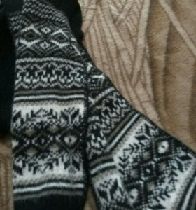 Новый тёплый шарф