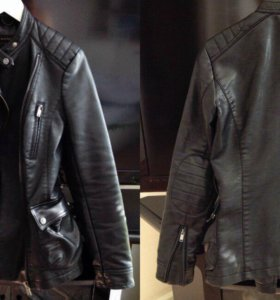 Zara basic (куртка, кожанка)