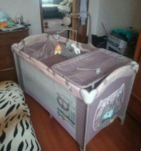 Манеж-кровать Babyton
