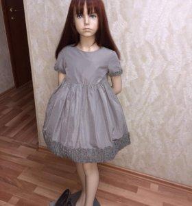 Новое платье I Pinco Pallino 5-6 лет