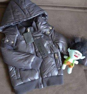Новая итальянская куртка для мальчика.