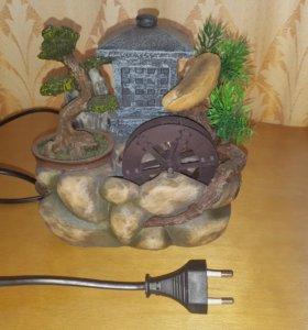 Декоративный настольный фонтан